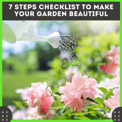 7 Steps Checklist to Make Your Garden Beautiful