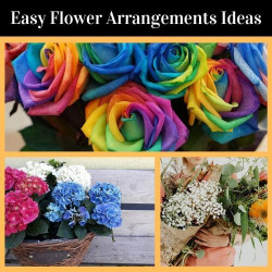 Easy Flower Arrangements that will Instantly Beautify Your Space