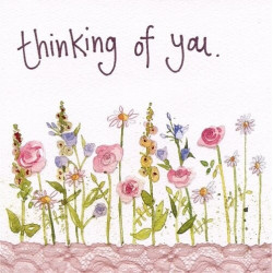 Say! Thinking Of You With Flowers
