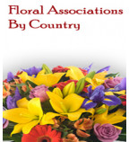 Floral Associations By Country