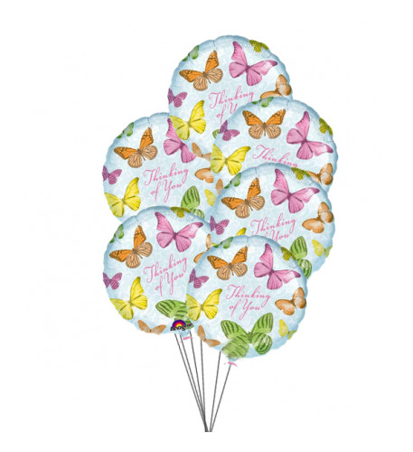 In Your Thoughts Balloons(6 Mylar Balloons)