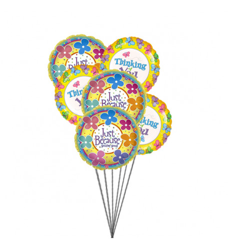 Giftblooms special for you(6 Mylar Ballons)