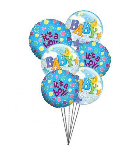 Balloons for Boys    (  6 Mylar Balloons )