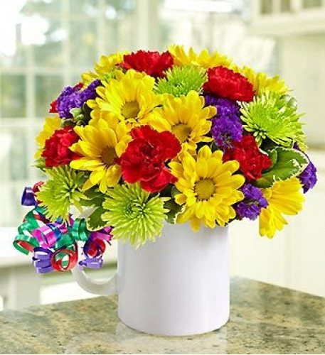 It's Your Day Bouquet - Mugable (Premium)