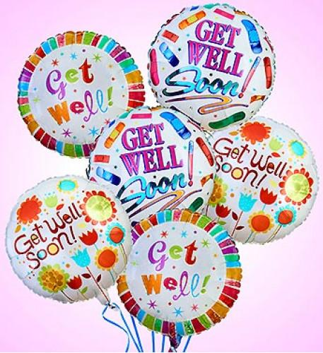 Air-Rangement - Get Well Mylar Balloons