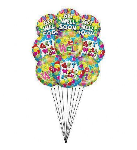 Shades of good health (9 Mylar Balloons)