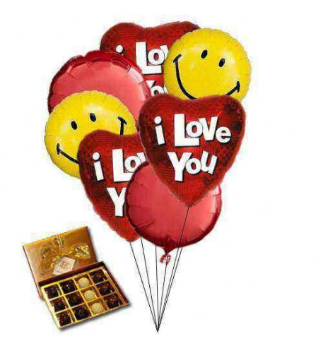 Sweet Love Balloons