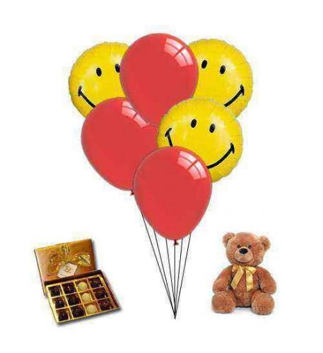 Sending Sweet Smile Balloons