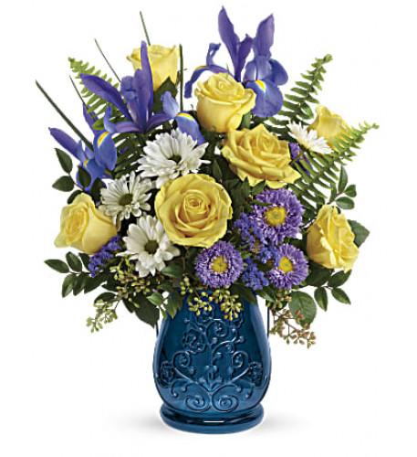 Sapphire Garden Bouquet (Standard)