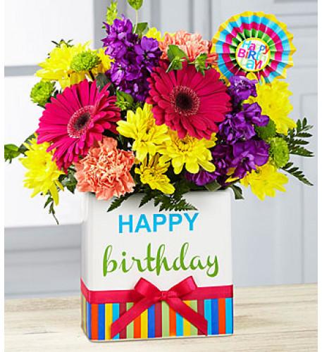 Birthday Brights Bouquet (Good)