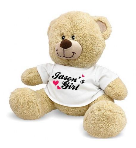 Personalized My Girl Teddy Bear - 17 Inch