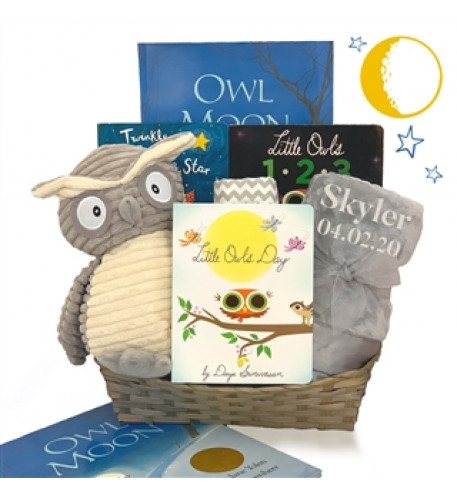 My Wise Little Reader Gift Basket