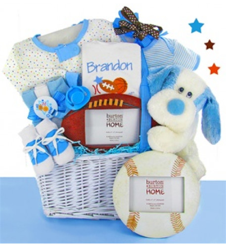 Personalized All Star Gift Basket- Boy