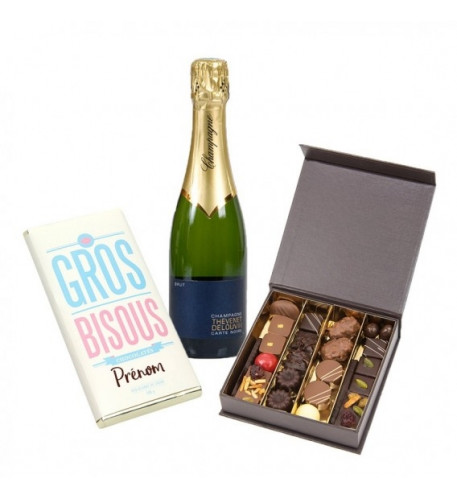 Big Chocolate And Sparkling Kisses (37.5 cl CHOICE OF BOTTLE)