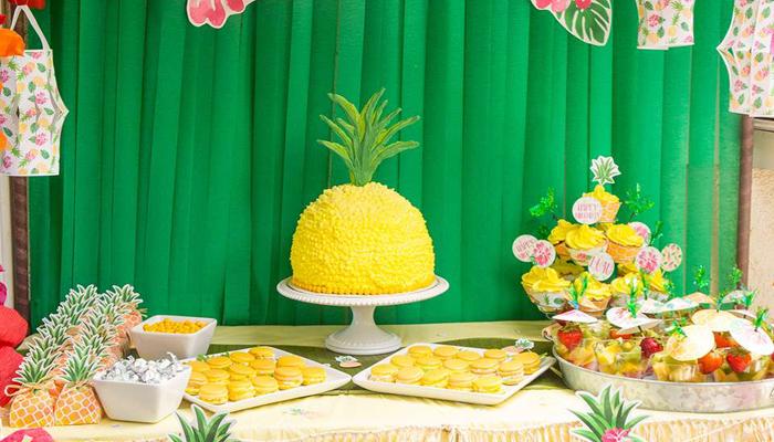 Pineapple Birthday Party