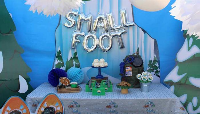 Smallfoot Birthday Party