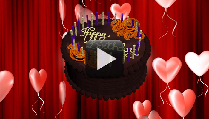 belated birthday gift ideas : birthday wish video