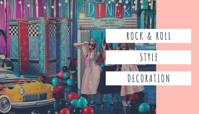 Rock and Roll Style Decoration