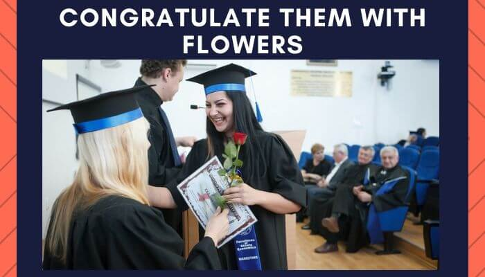 Congratulate them With Flowers