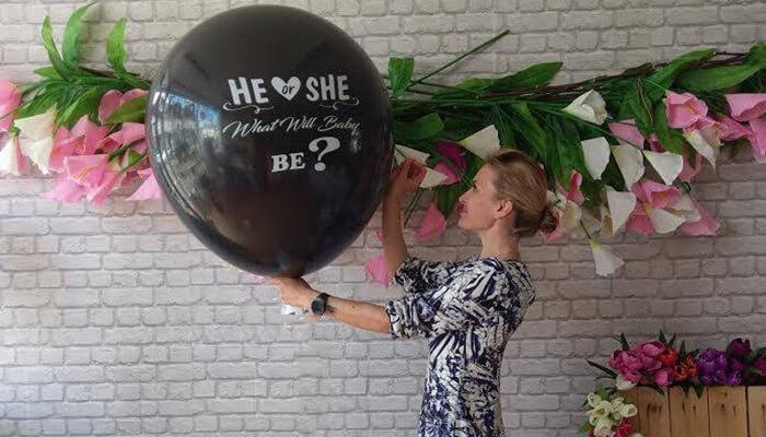 Gender Reveal Balloon Pop