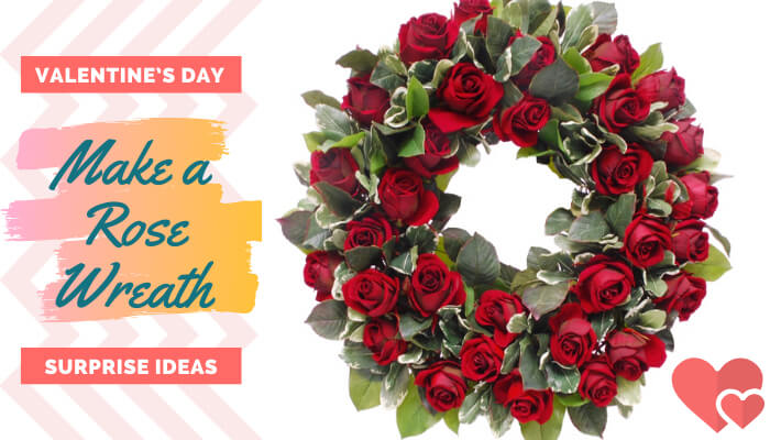 Make a Rose Wreath