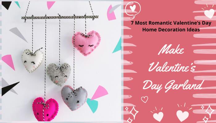 Make Valentine's Day Garland