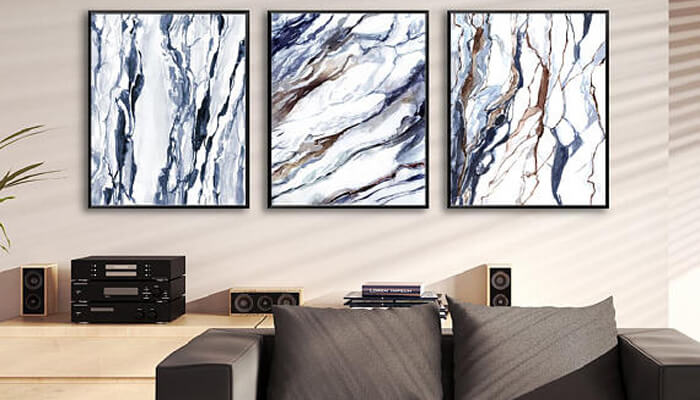 Marble or Geometric Wall Art