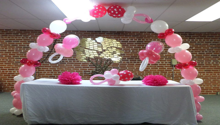 create vertical clouds & balloon showers