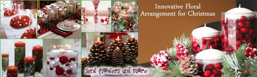 Innovative Floral Arrangement ideas For Upcoming Christmas