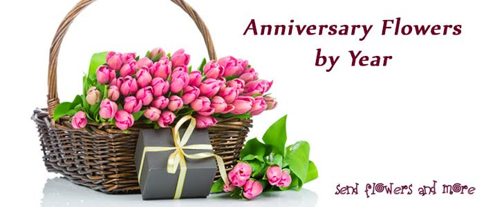 Send Significant Flowers for Every Anniversary