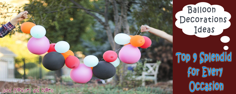 Balloon decoration idea