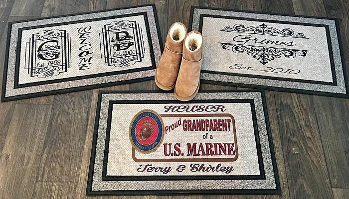 A Customized Doormat
