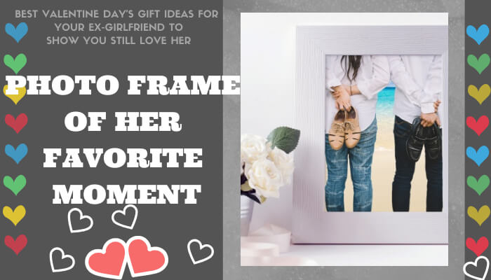 A Photo Frame of Her Favorite Moment