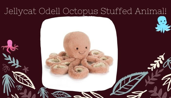 elly-cat Odell Octopus Stuffed Animal