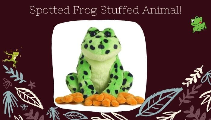 Spotted Frog Stuffed Animal
