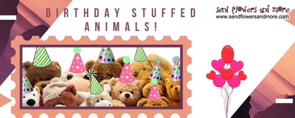 birthday stuffed animals