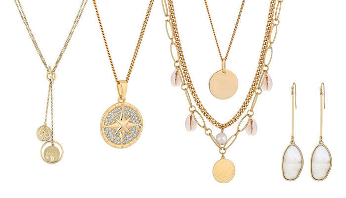 Circle of Love Gold Necklace for Your Sister