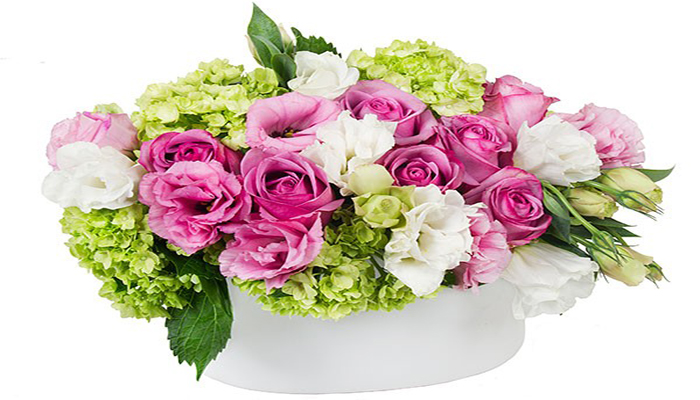 Oval Flower Arrangement