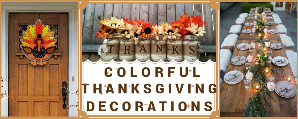 Colorful & Unique Thanksgiving Centerpieces and Decoration Ideas for All