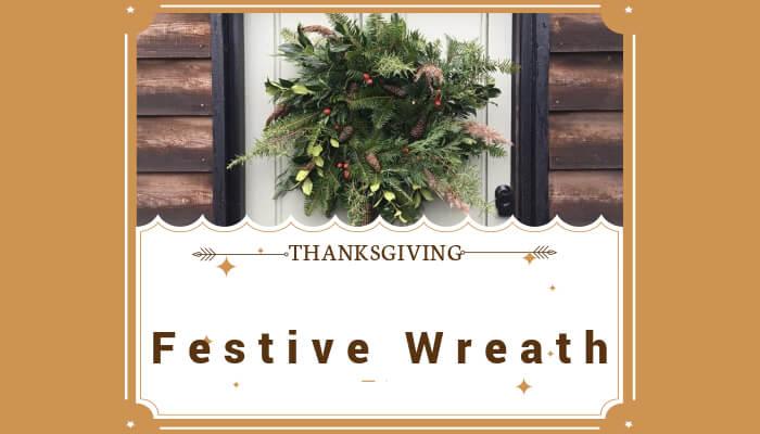 Prepare a Festive Wreath