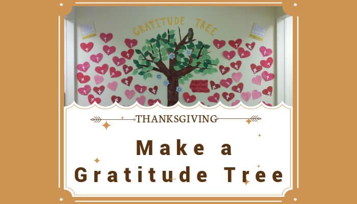 Make a Gratitude Tree