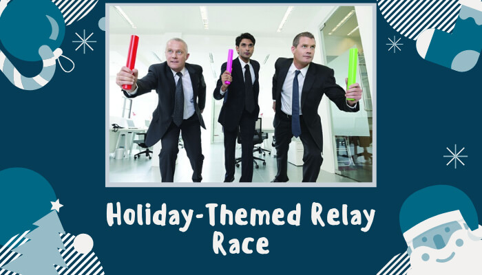 Holiday-Themed Relay Race