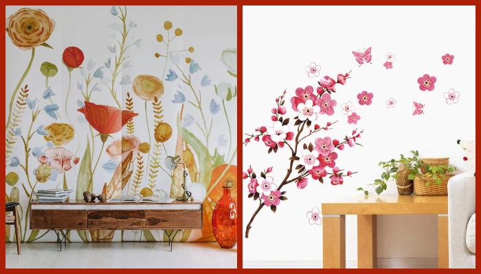 Botanical home decor ideas on a budget