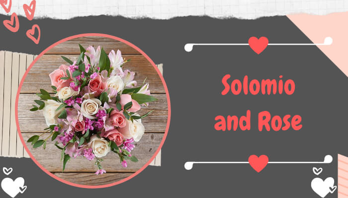 Solomio and Rose Flowers Bouquet
