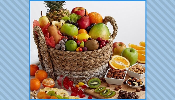 Fruit Gift Basket for Your Mother