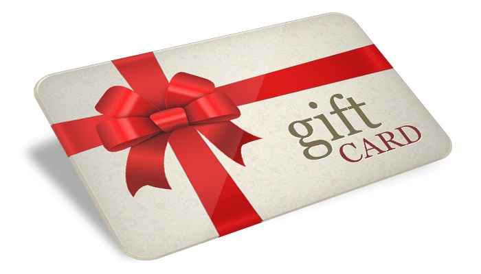 Gift cards, Gift cards & More Gift Cards.