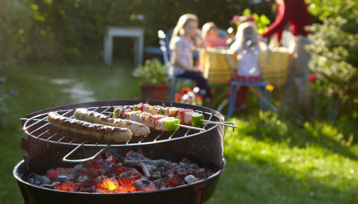 Host a classic backyard BBQ party