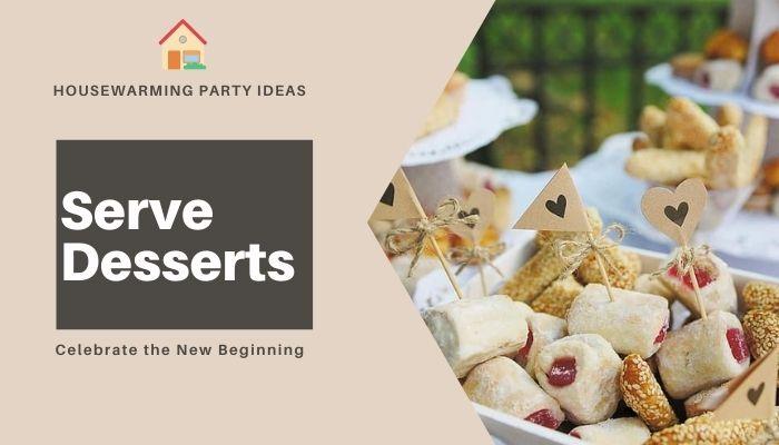 Serve Desserts