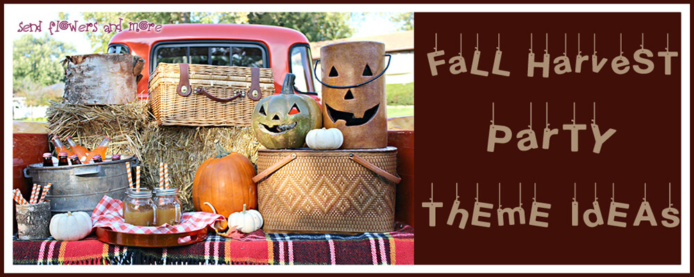 Inexpensive yet Best Theme to Celebrate Fall Harvest Party