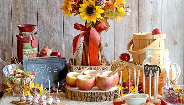 Caramel Apple Party Favor